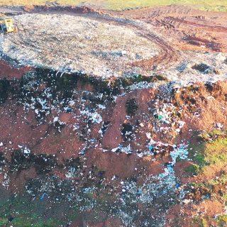 Landfill site near Telford